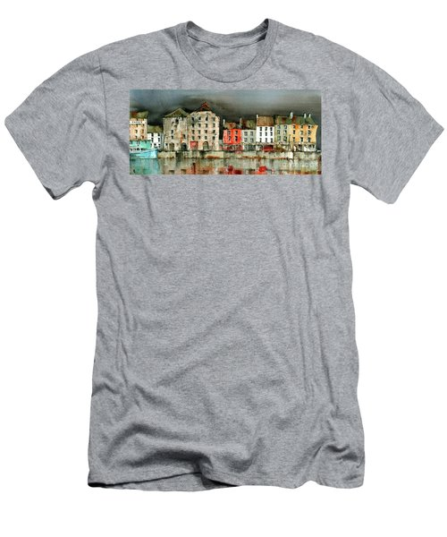 New Ross Quays Panorama Men's T-Shirt (Athletic Fit)