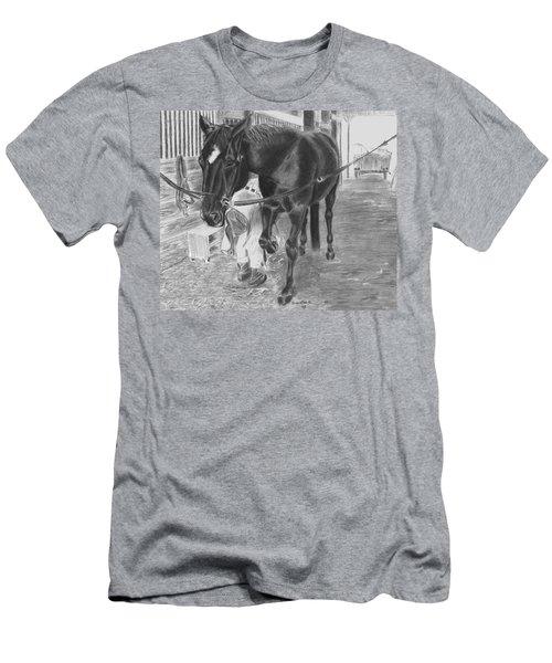New Shoes Men's T-Shirt (Athletic Fit)