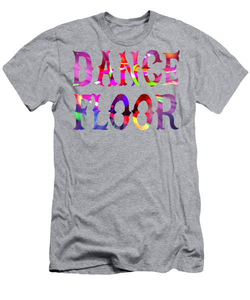 New Years Eve Dance Floor Abstract Men's T-Shirt (Athletic Fit)