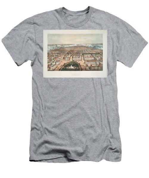 New York 1849 Men's T-Shirt (Athletic Fit)