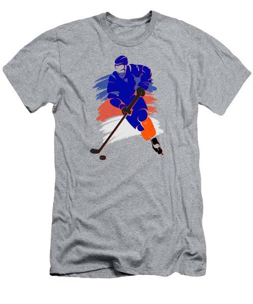 New York Islanders Player Shirt Men's T-Shirt (Slim Fit) by Joe Hamilton