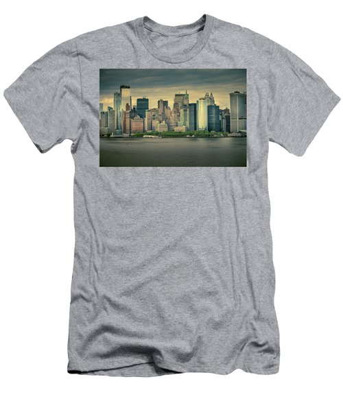 Men's T-Shirt (Athletic Fit) featuring the photograph New York State Of Mind by Ryan Smith