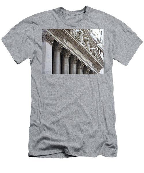New York Stock Exchange Men's T-Shirt (Athletic Fit)