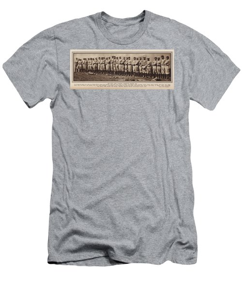 Men's T-Shirt (Slim Fit) featuring the photograph New York Yankees 1916 by Daniel Hagerman