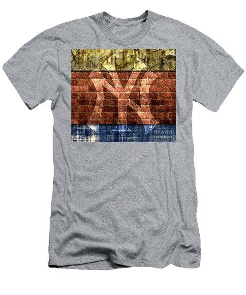 New York Yankees Brick 2 Men's T-Shirt (Athletic Fit)