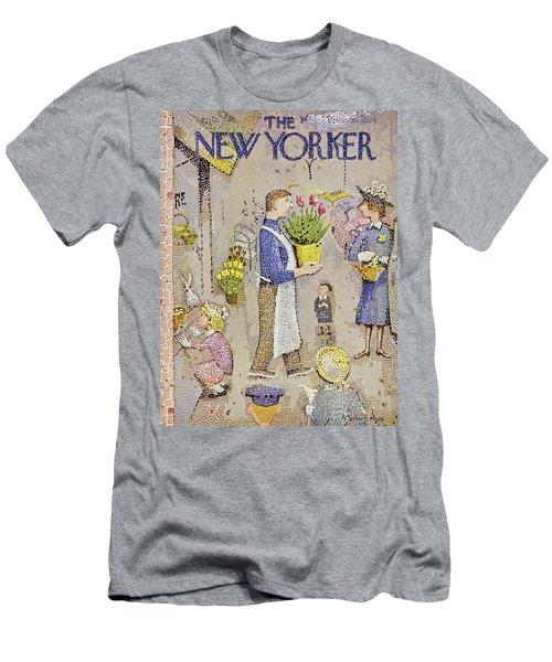 New Yorker April 5 1958 Men's T-Shirt (Athletic Fit)