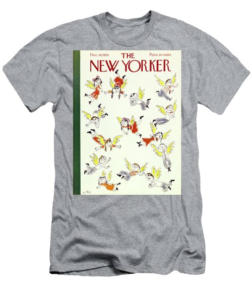 New Yorker December 16 1950 Men's T-Shirt (Athletic Fit)