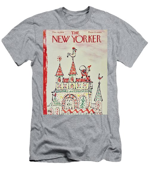 New Yorker December 26 1959 Men's T-Shirt (Athletic Fit)