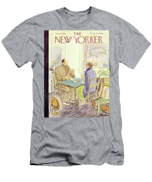 New Yorker January 23 1954 Men's T-Shirt (Athletic Fit)