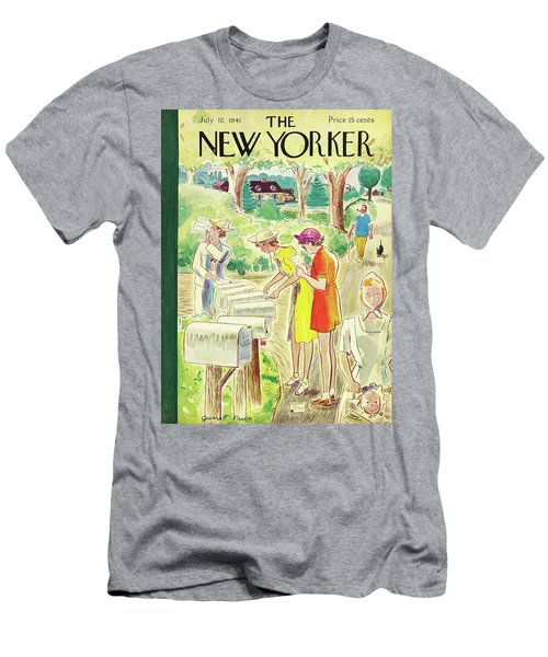 New Yorker July 12 1941 Men's T-Shirt (Athletic Fit)