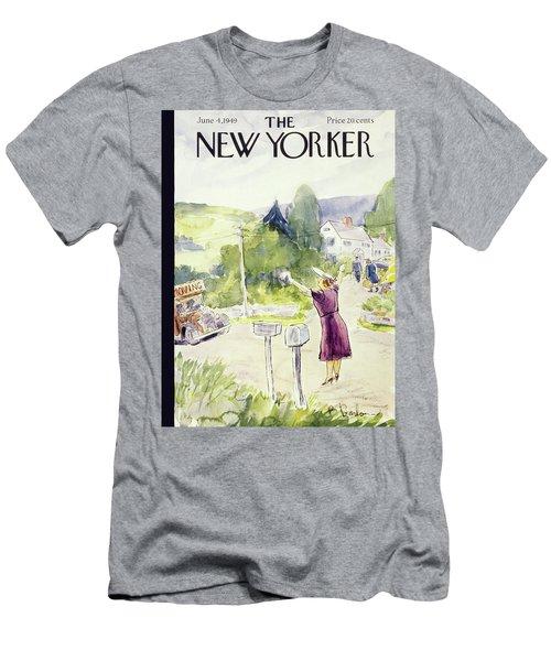 New Yorker June 4 1949 Men's T-Shirt (Athletic Fit)