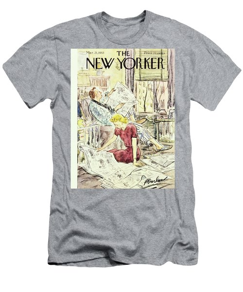 New Yorker March 21 1953 Men's T-Shirt (Athletic Fit)