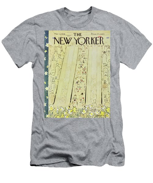 New Yorker March 8 1958 Men's T-Shirt (Athletic Fit)