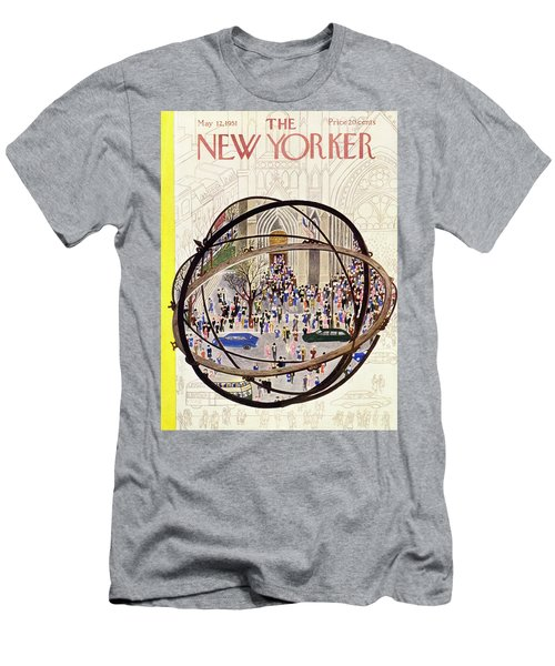 New Yorker May 12 1951 Men's T-Shirt (Athletic Fit)