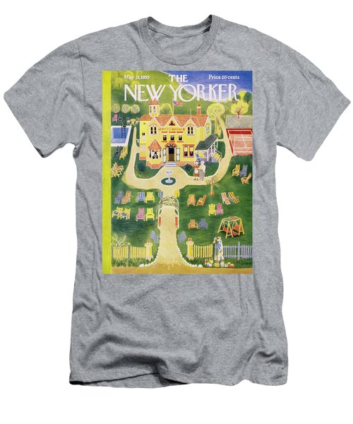 New Yorker May 21 1955 Men's T-Shirt (Athletic Fit)