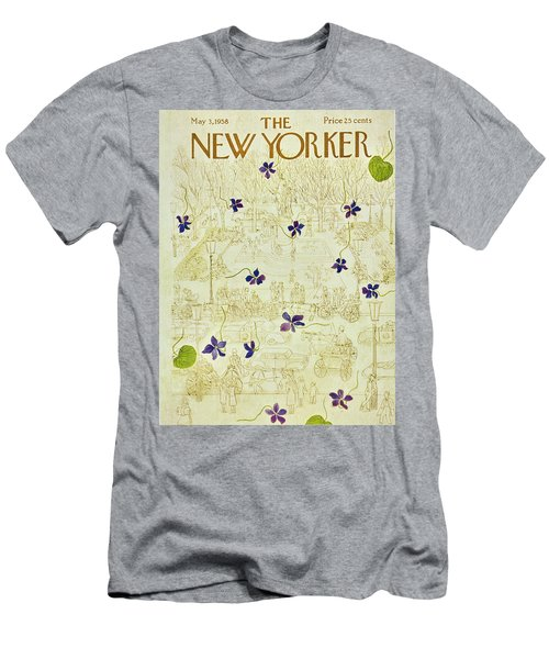 New Yorker May 3 1958 Men's T-Shirt (Athletic Fit)