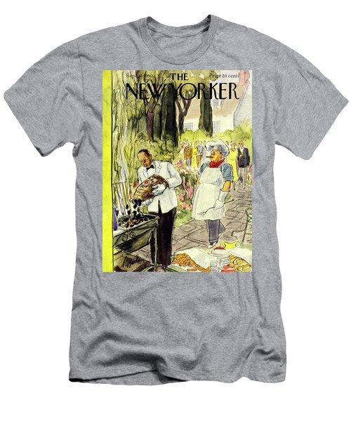 New Yorker September 16 1950 Men's T-Shirt (Athletic Fit)