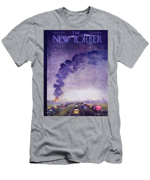 New Yorker September 17 1955 Men's T-Shirt (Athletic Fit)