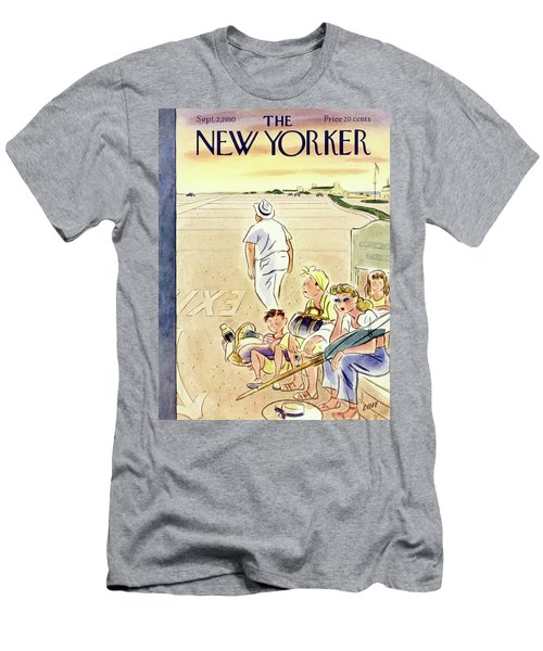 New Yorker September 2 1950 Men's T-Shirt (Athletic Fit)