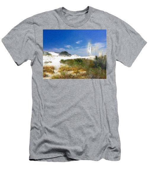 New Zealand Toi Toi Coastal Grasses Men's T-Shirt (Athletic Fit)
