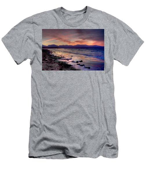 Newborough Sunrise Men's T-Shirt (Athletic Fit)