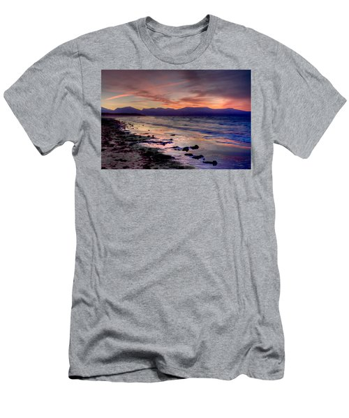 Newborough Sunrise Men's T-Shirt (Athletic Fit)