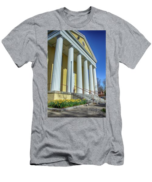 Newburgh Courthouse On Grand Street 2 Men's T-Shirt (Athletic Fit)