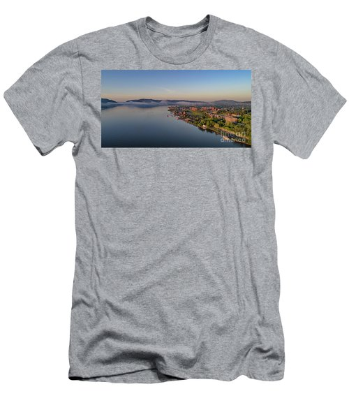 Newburgh Waterfront At Sunrise Men's T-Shirt (Athletic Fit)