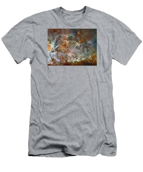 Ngc 3372 Taken By Hubble Space Telescope Men's T-Shirt (Athletic Fit)