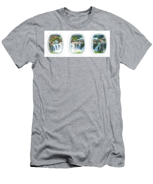 Niagara Falls Porthole Windows Men's T-Shirt (Athletic Fit)