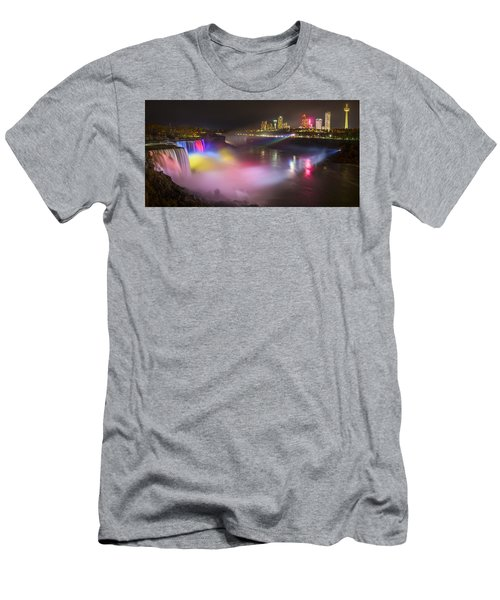Niagara Rainbow Men's T-Shirt (Athletic Fit)