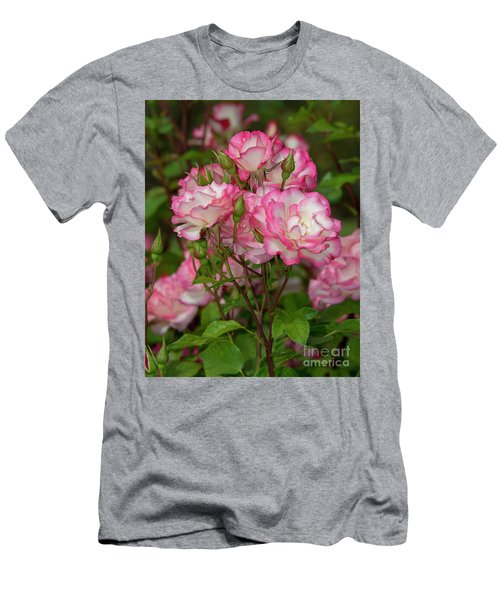 Nicole Roses 1 Men's T-Shirt (Athletic Fit)