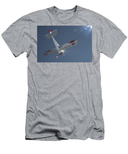 Nieuport 17 In The Blue Sky Men's T-Shirt (Slim Fit) by David Collins