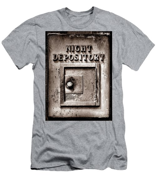 Night Depository Men's T-Shirt (Athletic Fit)