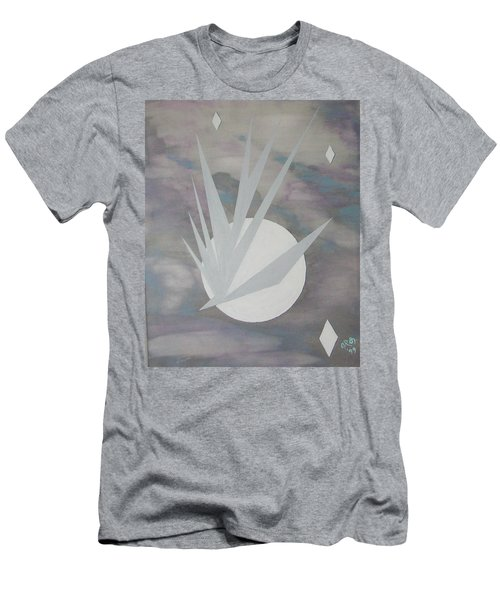 Men's T-Shirt (Slim Fit) featuring the painting Night Hawke II by J R Seymour