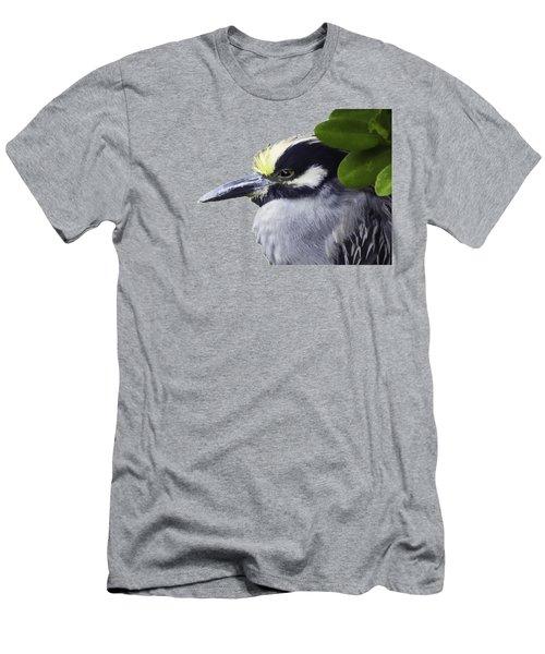 Night Heron Transparency Men's T-Shirt (Athletic Fit)