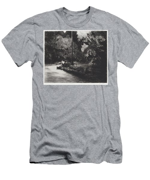Night In The Park Men's T-Shirt (Athletic Fit)