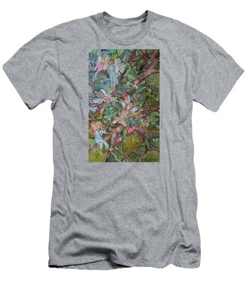 Night Night Men's T-Shirt (Slim Fit) by Claudia Cole Meek