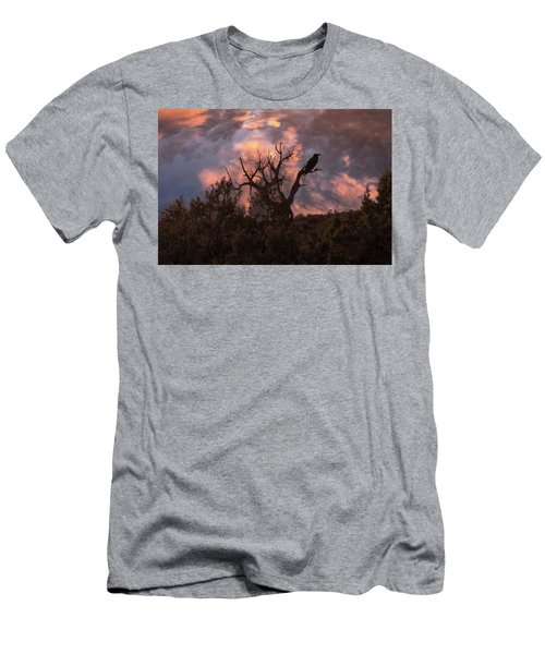 Night Of The Raven Men's T-Shirt (Athletic Fit)