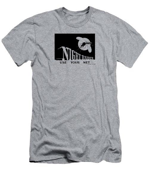 Night Raider Ww2 Malaria Poster Men's T-Shirt (Athletic Fit)