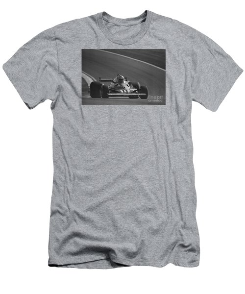 Niki Lauda. 1977 French Grand Prix Men's T-Shirt (Athletic Fit)