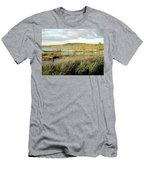 Nisqually Tide Coming In Men's T-Shirt (Athletic Fit)