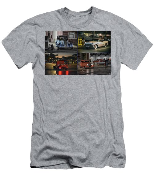 Men's T-Shirt (Slim Fit) featuring the photograph Nite Shots At Cure by Bill Dutting
