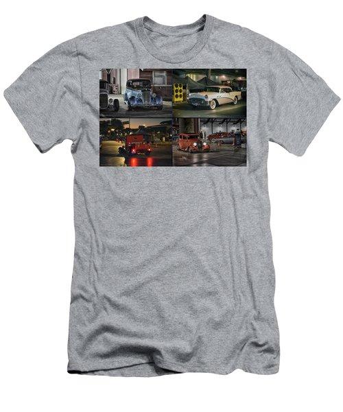 Nite Shots At Cure Men's T-Shirt (Slim Fit)