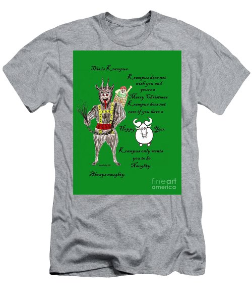 No Happy Gnu Year Men's T-Shirt (Athletic Fit)