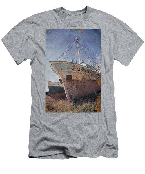 No More Fish Men's T-Shirt (Athletic Fit)