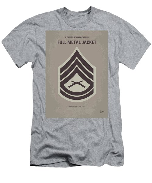 No030 My Full Metal Jacket Minimal Movie Poster Men's T-Shirt (Athletic Fit)