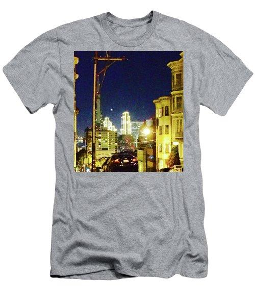 Nob Hill Electric Men's T-Shirt (Athletic Fit)