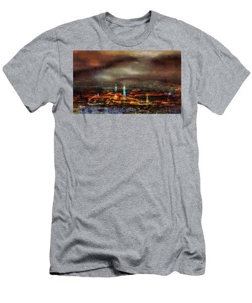 Nocturnal Impression Men's T-Shirt (Athletic Fit)