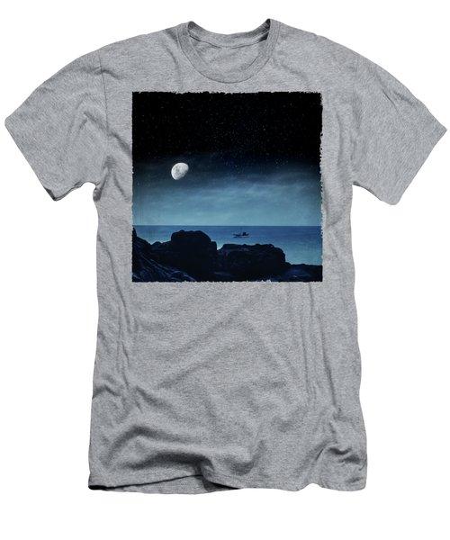 Nocturnal Sea Men's T-Shirt (Athletic Fit)